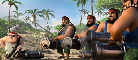 Boom Beach Commercial 2017