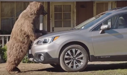 Subaru Bears Commercial