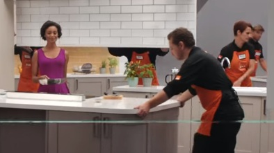 B&Q Kitchen Advert