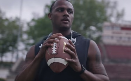 Deshaun Watson in Beats by Dre Commercial