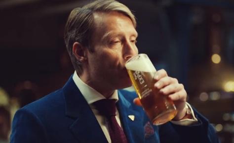 Mads Mikkelsen - Carlsberg Advert