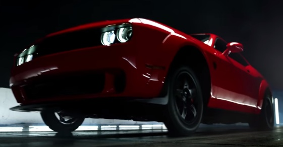 Dodge Challenger Srt Demon Commercial