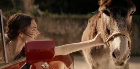 Vittoria Ceretti vs. Donkey ( Dolce & Gabbana Commercial)