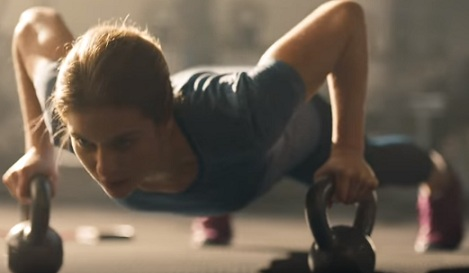 Girl in Jimmy Dean Commercial