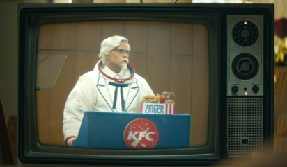 KFC Commercial Zinger Chicken Sandwich