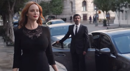 Christina Hendricks (Kia Commercial)