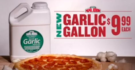 Papa John's Garlic Gallon