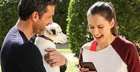 Pubblicità Vodafone Happy con Patrick Dempsey