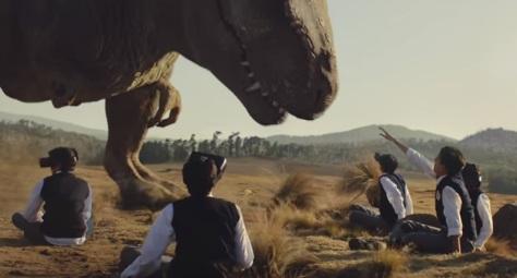 Samsung Commercial (Dinosaur)