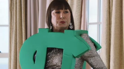 Anjelica Huston in AT&T Commercial