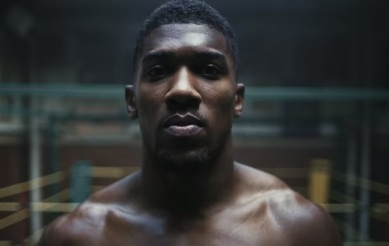 Anthony Joshua in Under Armour Commercial