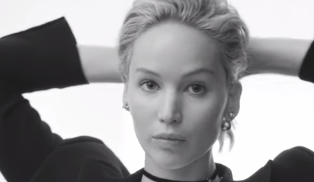 Jennifer Lawrence - Dior Commercial