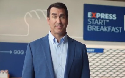 Rob Riggle in Holiday Inn Express Advert