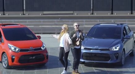 Kia Commercial: Lee Radde & Kate Kim