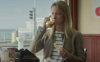 Girl in McCoy's Chips Advert