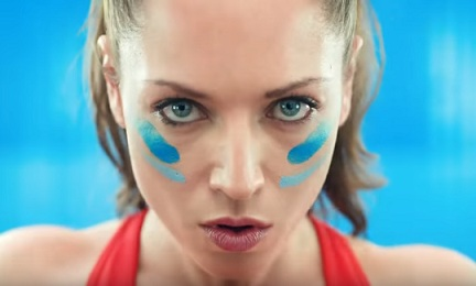 Girl in Propel Commercial - Get Ugly