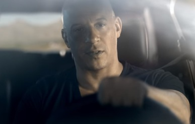 Vin Diesel in Dodge Commercial
