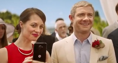 Vodafone UK Martin Freeman Advert Song