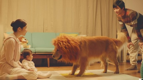 Amazon Commercial - Dog with Lion Mane