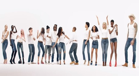 Gap Commercial - Celebrities in White T-shirts