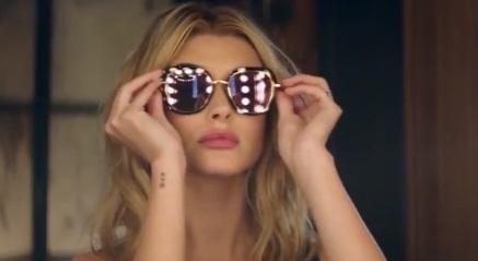 Hailey Baldwin - Bolon Eyewear Commercial