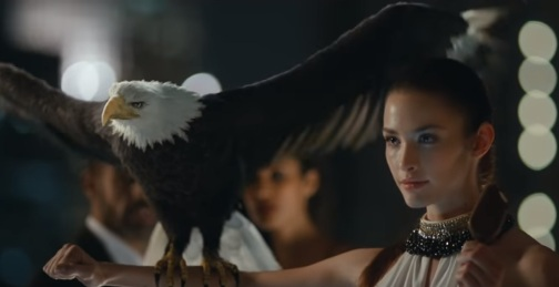 Girl with Eagle - Magnum Commercial