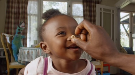 Girl in Cheerios Commercial
