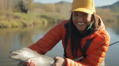 eBay Commercial - Girl Fishing