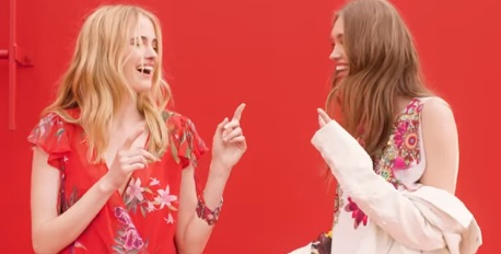 Girls in Desigual Summer Commercial