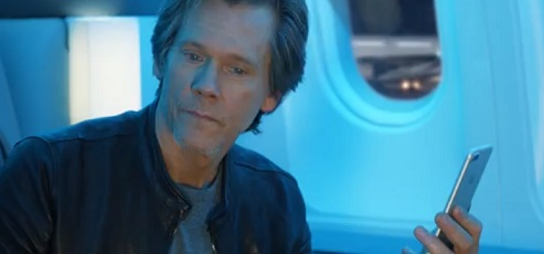 Kevin Bacon in EE TV Advert