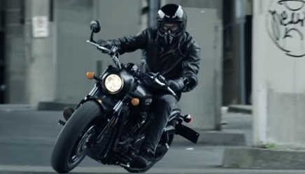Indian Motorcycle Scout Bobber Commercial