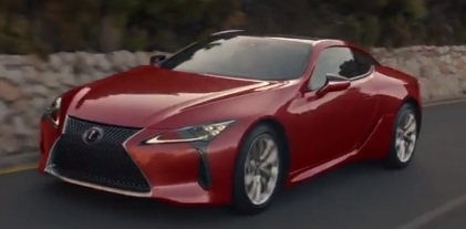 Lexus LC TV Advert