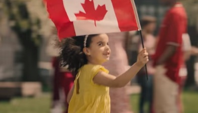 Girl in TD Bank Commercial