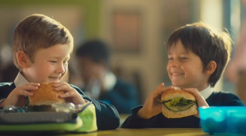 Morrisons TV Advert - Boy on His First Day of School
