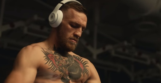 Conor McGregor in Beats by Dre Commercial