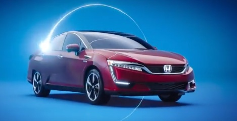 Honda Clarity Fuel Cell Commercial