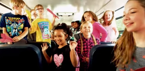 Kmart School Bus Commercial