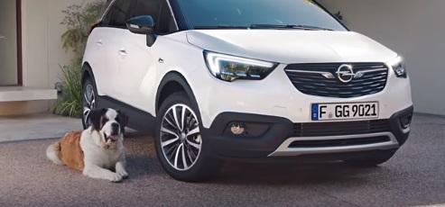 Opel Crossland X Commercial - Saint Bernard