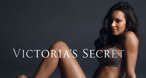 Model in Victoria's Secret Commercial