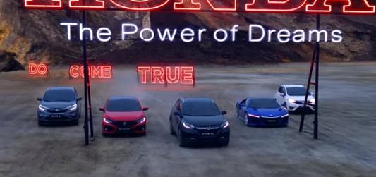 Honda Commercial - Car Range