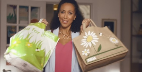 Woman in Asda TV Advert