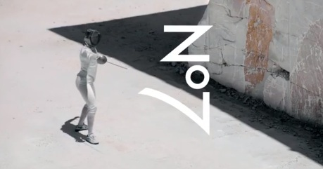Monica Aksamit - Fencer in Boots No7 Advert