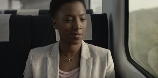 Woman in Galaxy Chocolate TV Advert