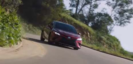 2018 Toyota Camry Commercial