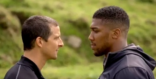 ITV - Bear Grylls vs Anthony Joshua - Bear's Mission