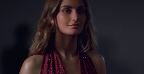 Model Andreea Diaconu in Michael Kors Smartwatch Commercial