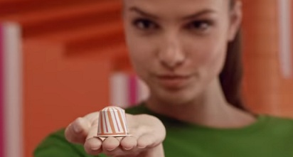 Girl in Nespresso Commercial