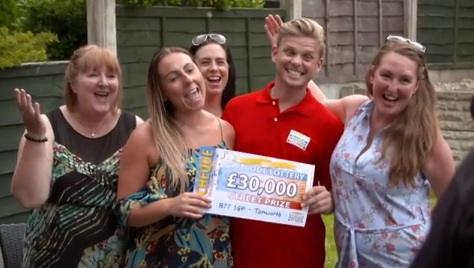 People's Postcode Lottery TV Advert