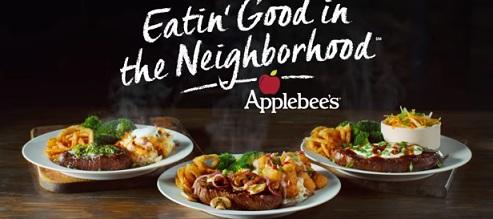Applebee's Topped Steak Commercial