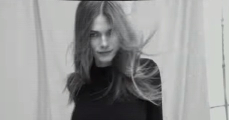Model in Banana Republic Cyber Monday Commercial